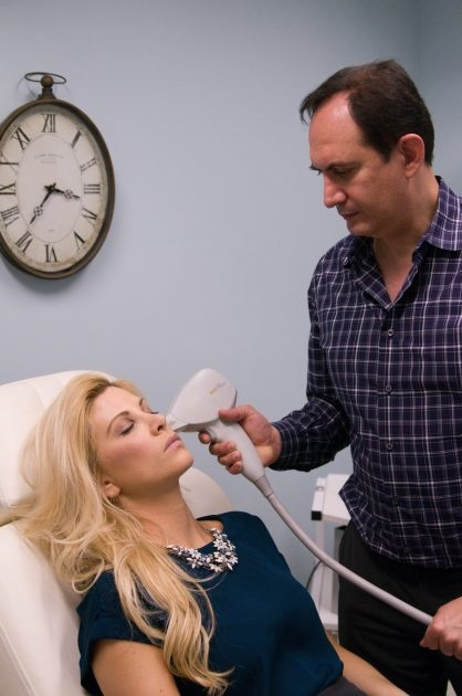 the ipl treatment (intense pulsed light) is a breakthrough in 'age-defying' skin care